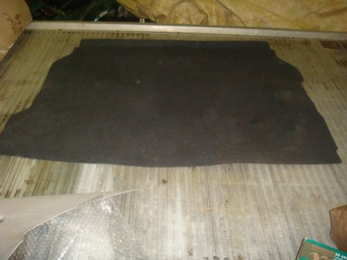 ASTRA MK4 CABRIOLET DARK GREY BOOT MAT